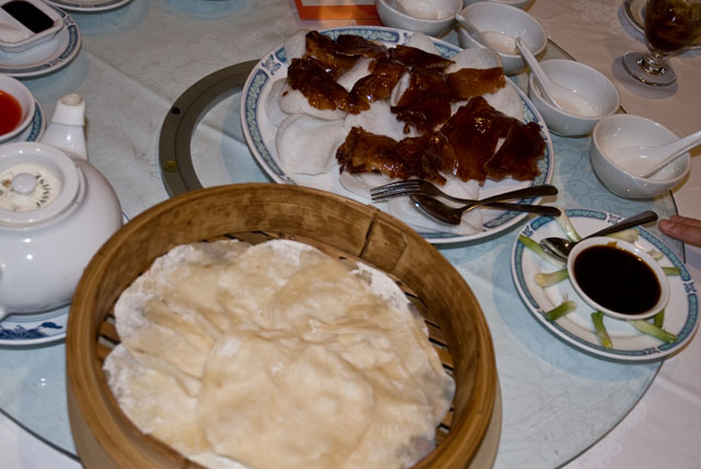 Banquet peking duck
